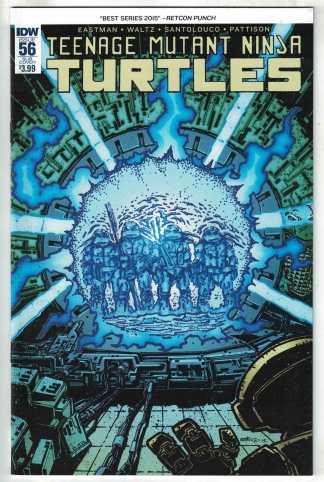 Teenage Mutant Ninja Turtles #56 Eastman Variant IDW 2011 VF/NM