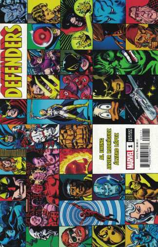 Defenders #1 1:25 George Perez Hidden Gem Variant Marvel 2021