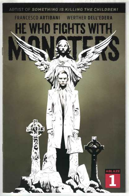 He Who Fights With Monsters #1 1:40 Jae Lee Glow-in-the-Dark Variant 2021 VF/NM
