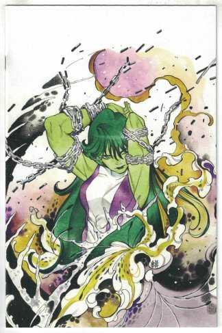 Avengers #44 1:100 Peach Momoko Virgin Variant 2018 She-Hulk VF/NM