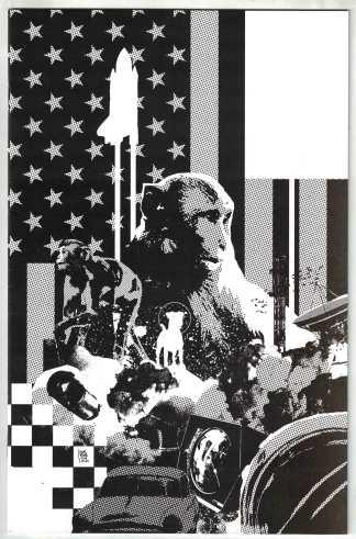 Primordial #1 1:50 Andrea Sorrentino Black & White Variant Image 2021 VF/NM