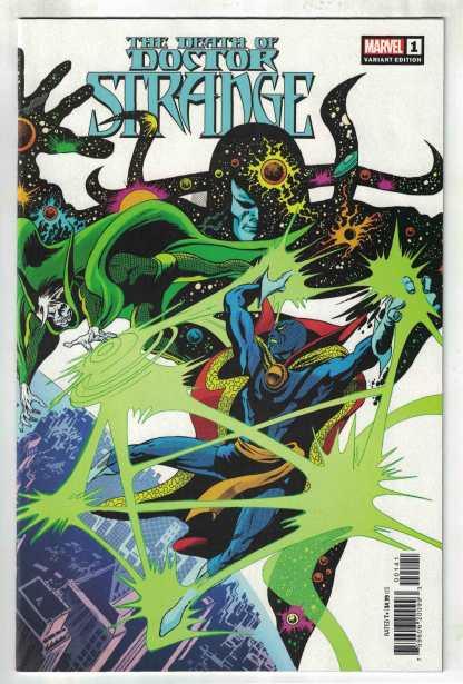 Death of Doctor Strange #1 1:50 Gene Colan Hidden Gem Variant Marvel 2021 VF/NM
