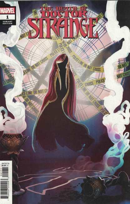 Death of Doctor Strange #1 1:25 Stephanie Hans Variant Marvel 2021