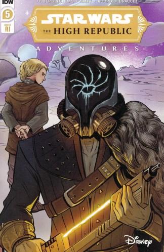 Star Wars High Republic Adventures #5 1:10 Yael Nathan Variant IDW 2021