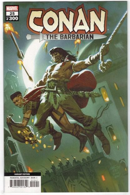 Conan the Barbarian #25 1:25 Daniel Acuna Marvel 2019 VF/NM
