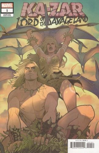 Ka-Zar Lord of the Savage Land #1 1:25 Elizabeth Torque Variant Marvel 2021