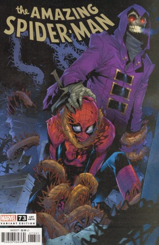 Amazing Spider-Man #73 1:25 Federico Vicentini Variant Marvel 2018 Sinister War