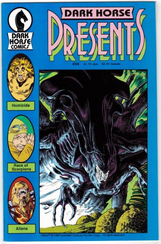 Dark Horse Presents #24 1st Aliens 1986 VF/NM