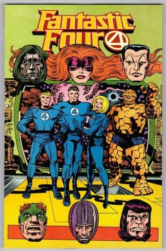 Fantastic Four #35 1:100 Jack Kirby Hidden Gem Variant Marvel 2018 Dan Slott NM-