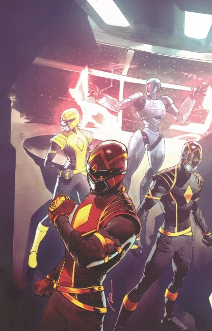 Power Rangers #11 1:10 Gerald Parel Virgin Variant Boom 2020