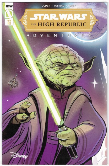 Star Wars High Republic Adventures #1 1:10 Yael Nathan Variant IDW 2021 VF/NM