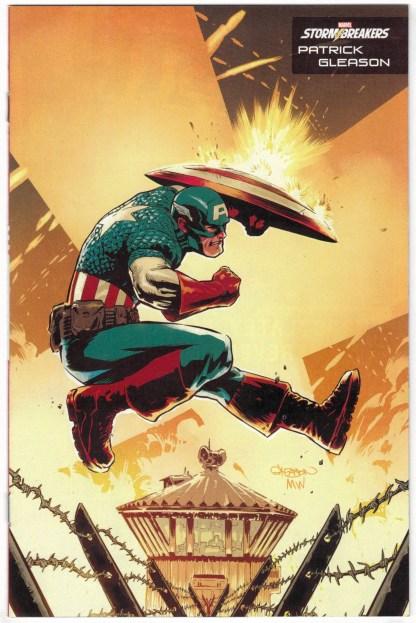 Captain America #27 Patrick Gleason Stormbreakers Variant Marvel 2018 VF/NM