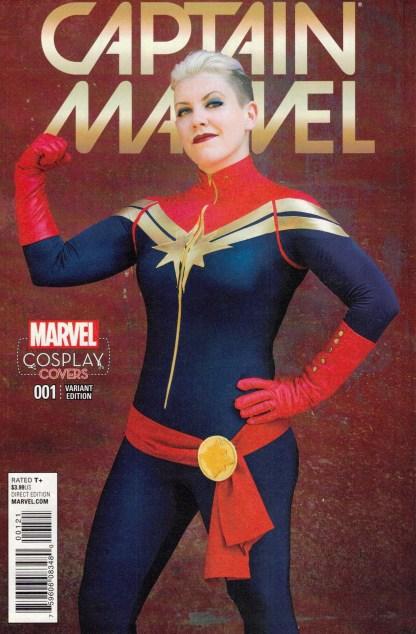 Captain Marvel #1 1:15 Cosplay Variant Marvel 2016
