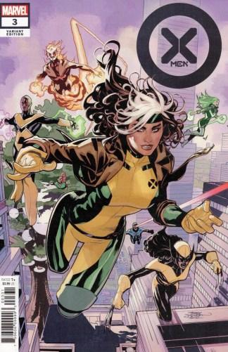 X-Men #3 1:25 Terry & Rachel Dodson Variant Marvel 2021