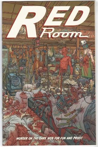 Red Room #4 1:25 Geoff Darrow Variant Fantagraphics 2021 VF/NM