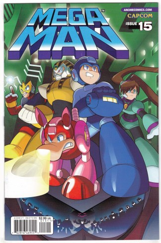 Mega Man #15 First Print Cover A Archie 2011 VF/NM