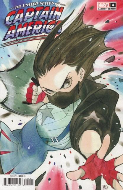 United States of Captain America #4 1:25 Momoko Variant 1st Agbayani Marvel 2021