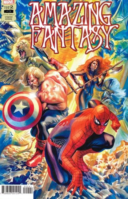 Amazing Fantasy #2 1:25 Felipe Massafera Variant Marvel 2021