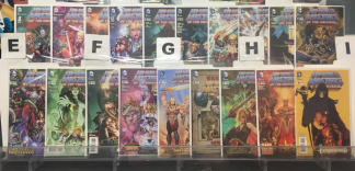 He-Man and the Masters of the Universe #1-19 Complete Set DC 2013 VF/NM