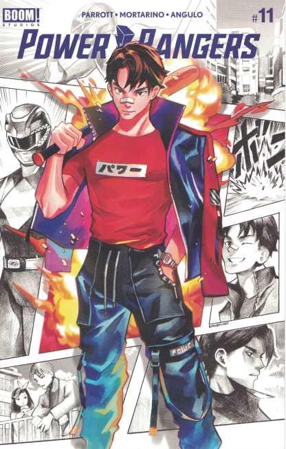 Power Rangers #11 1:25 Gonzales Variant Boom 2020