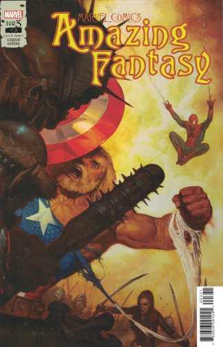 Amazing Fantasy #3 1:25 Gist Variant Marvel 2021