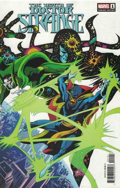 Death of Doctor Strange #1 1:50 Gene Colan Hidden Gem Variant Marvel 2021