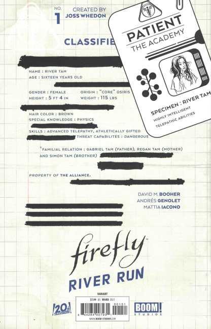 Firefly River Run #1 1:25 Christian Ward Virgin Variant Boom 2021