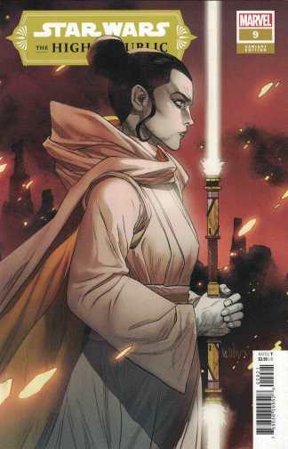 Star Wars High Republic #9 1:25 Leinil Francis Yu Variant Marvel 2021
