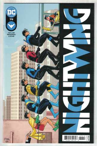 Nightwing #79 2nd Print Redondo Variant 1st Cameo Heartless DC 2016 VF/NM