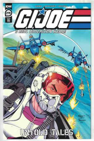 G.I. Joe A Real American Hero #279 1:10 Royle Variant IDW 2010 VF/NM