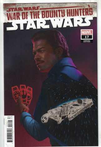 Star Wars #17 1:25 Rahzzah Variant War Bounty Hunters Marvel 2020 VF/NM