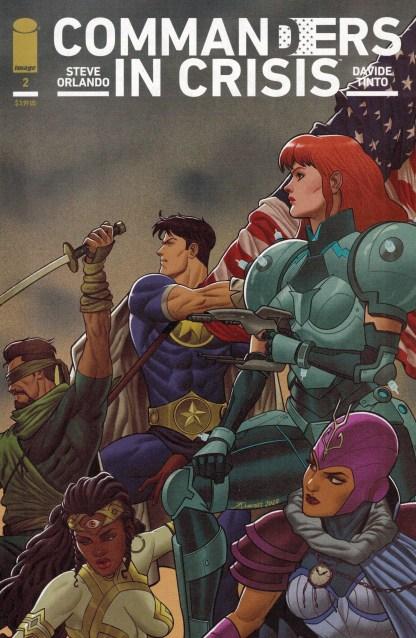 Commanders in Crisis #2 1:25 Joe Quinones Variant Image 2020