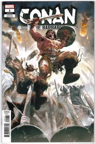 Conan the Barbarian #1 1:25 Daniel Acuna Variant Marvel 2018 VF/NM
