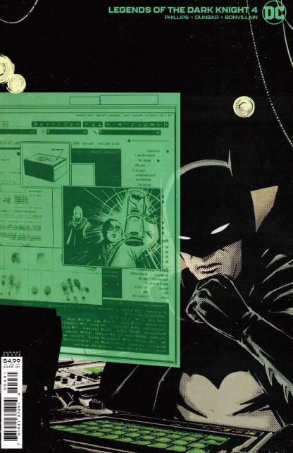 Legends of the Dark Knight #4 1:25 Jorge Fornes Variant DC 2021