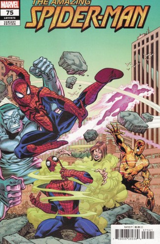 Amazing Spider-Man #75 1:25 Ron Frenz Variant Marvel 2018