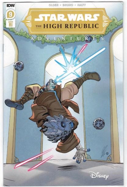 Star Wars High Republic Adventures #9 1:10 Megan Levens Variant IDW 2021 VF/NM