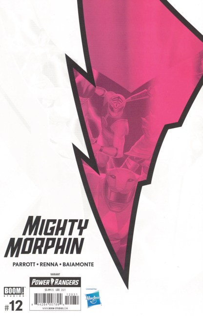 Mighty Morphin #12 1:10 InHyuk Lee Variant Boom 2020