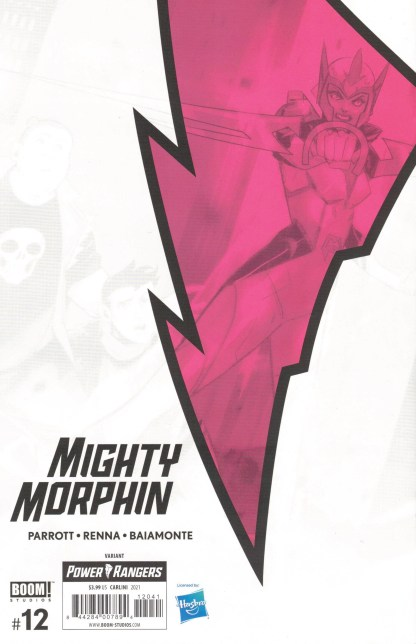 Mighty Morphin #12 1:15 Eleonora Carlini Virgin Variant Boom 2020