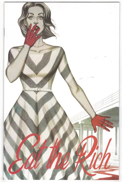 Eat the Rich #1 1:25 Jenny Frison Variant Boom! 2021 VF/NM
