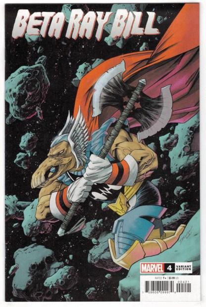 Beta Ray Bill #4 1:25 Declan Shalvey Variant Marvel 2021 VF/NM