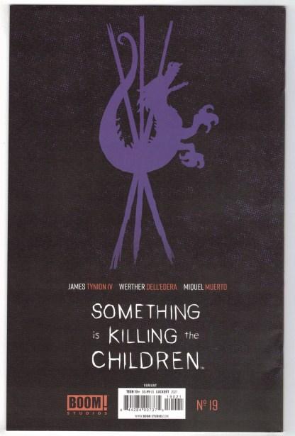 Something Is Killing the Children #19 1:25 Danny Luckert Variant Boom 2019 VF/NM
