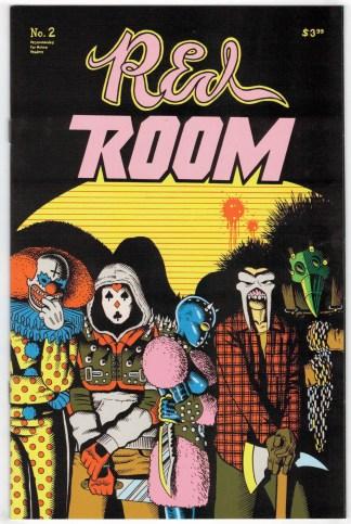 Red Room #2 1:15 Jim Rugg Variant Fantagraphics 2021 Ed Piskor VF/NM