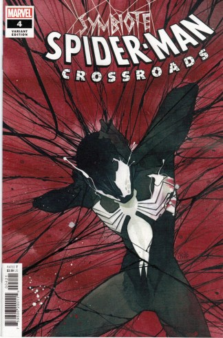 Symbiote Spider-Man Crossroads #4 1:25 Peach Momoko Variant Marvel 2021
