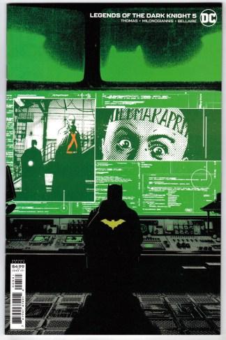 Legends of the Dark Knight #5 1:25 Jorge Fornes Variant DC Batman 2021 VF/NM