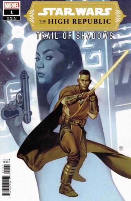 Star Wars High Republic Trail of Shadows #1 1:25 Tedesco Variant Marvel 2021