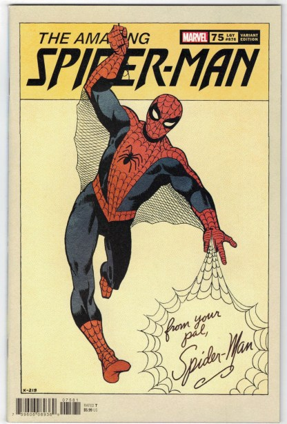 Amazing Spider-Man #75 1:50 Steve Ditko Hidden Gem Variant Marvel 2018 VF/NM