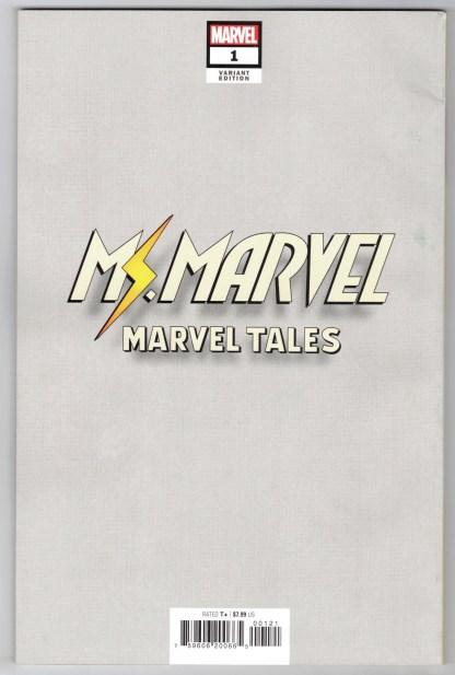 Marvel Tales Ms Marvel #1 1:50 Sway Virgin Variant Marvel 2021 VF