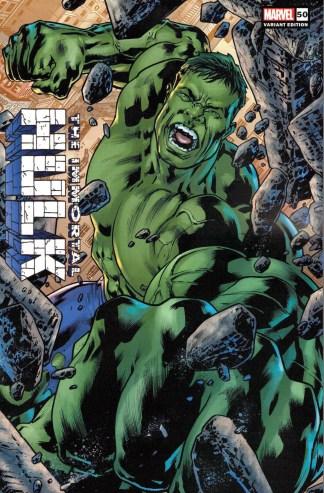 Immortal Hulk #50 1:25 Bryan Hitch Variant Marvel 2018 Final Issue
