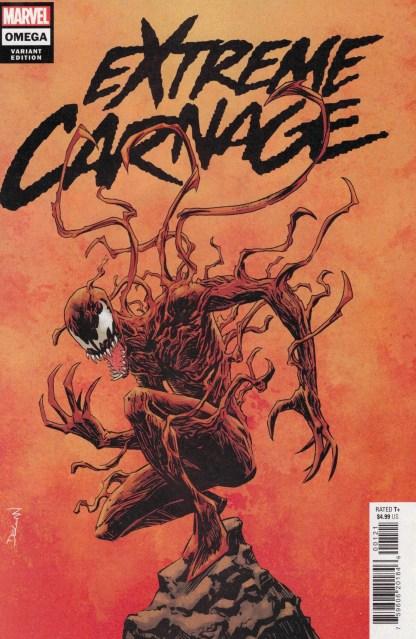 Extreme Carnage Omega #1 1:25 Declan Shalvey Variant Marvel 2021