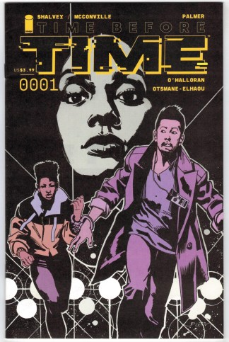 Time After Time #1 John Paul Leon Variant Image 2021 VF/NM